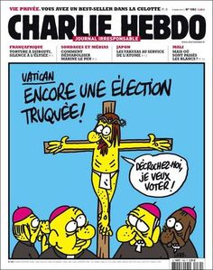 Charlie Hebdo has had more legal run-ins with Christians than with Muslims Marine Le Pen, Religious Tolerance, Anti Religion, Let Me Down, Journal, Paris, Cover Pages, Free Resume, Sample Resume