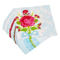 Buy Pip Studio Floral Paper Napkins, Pack of 20 Online at johnlewis.com £7