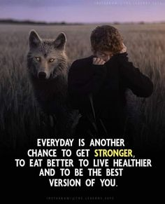 Everyday is another chance to get stronger. Woman Quotes, Life Quotes, Positive Quotes, Motivational Quotes, Healthy Living, Millionaire Quotes, Positive Outlook, Joker Quotes, Body And Soul