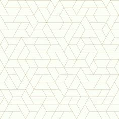 "Ashford House Point of View 33' x 20.5"" Geometric Wallpaper Roll"