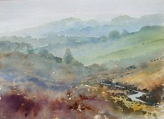 Paul Kemp - Wet day West Dart, Dartmoor - Artists & Illustrators - Original art for sale direct from the artist