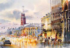 петербургские городские пейзажи в импрессионизме: 11 тыс изображений найдено в Яндекс.Картинках