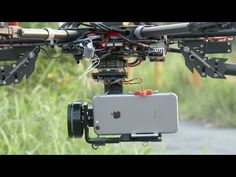 smartphone vs. goPro??? iPhone 6 flying in the sky - HeliPal.com - YouTube
