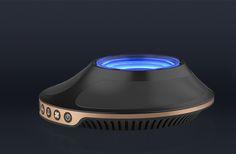 车载空气净化器产品设计 on Behance