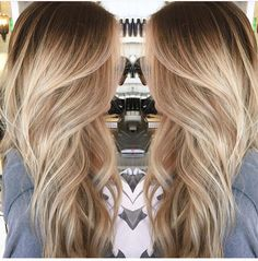 Love this tone of blonde