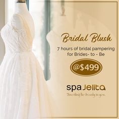 We know how tiring it is to plan for your wedding, so for aspiring brides-to-be, we offer a 7 hours worth of bridal pampering! Feel like in cloud nine on your big day by simply dropping by now at our center! 7 Hours, Big Day, Brides, Blush, Flower Girl Dresses, Clouds, How To Plan, Wedding Dresses, Fashion