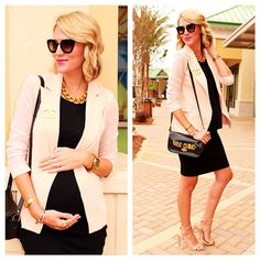 Chic Maternity Style: get this look for less than $47 at MotherhoodCloset.com Online Maternity Consignment store.