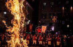 abbruciamento degli scarli, Ivrea Carnival. (58/365)