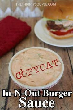 In and Out copycat sauce
