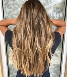 Brown Hair Balayage, Blonde Hair With Highlights, Brown Blonde Hair, Hair Color Balayage, Ombre Hair, Brown Curls, Brown Highlights, Blonde Honey, Honey Hair