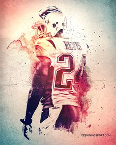 Darrelle Revis, New England Patriots — 'True Patriots' Poster Series