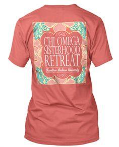 Chi Omega Sisterhood T-shirt