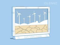 Ant Wind Farm - Now Voting.   Watch illustration video  Visit Glennz Tees  | Twitter  | Facebook  | Flickr   | Behance  | Dribbble
