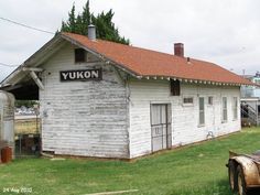 Old Depot @ Yukon, Oklahoma on Route 66...hometown of Garth Brooks..