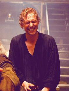 Tom Hiddleston as Prince Hal. First part of the Hollow Crown tetralogy, out today!