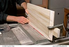 A veteran cabinetmaker shows you how to build a Shaker-style cabinet door in six easy steps - this is actually a raised-panel door, but a Shaker-style should be easy to adapt from this tutorial.