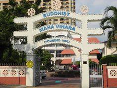 Buddhist Maha Vihara entrance