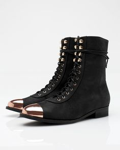 3093f79c9f6 Combat chic  10 pairs of sophisticated heavy-duty boots. Valerie Jar · shoes