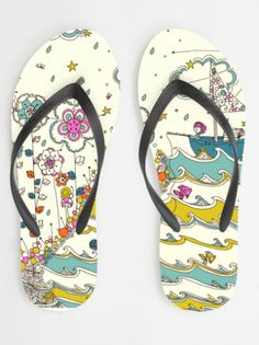 how to design your own #wedding flip flops!