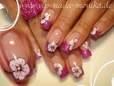 Flowers - Nail Art Gallery