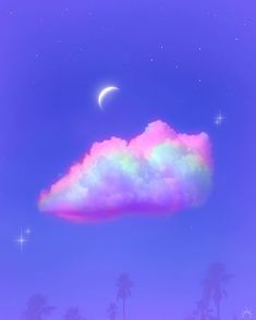 Rainbow Aesthetic, Sky Aesthetic, Aesthetic Images, Purple Aesthetic, Rainbow Wallpaper, Cute Wallpaper Backgrounds, Pretty Wallpapers, Aesthetic Pastel Wallpaper, Aesthetic Backgrounds