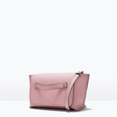 ZARA - SHOES & BAGS - TOP STITCHED MESSENGER BAG