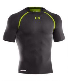 359480e6ee9ac Under Armour Dynasty HeatGear Vented Compression T-Shirt - Black Find Man