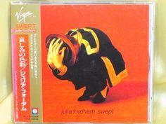CD/Japan- JULIA FORDHAM Swept w/OBI RARE 1991 VJCP-28064 (Toshiba EMI ver.) #ElectroSynthDownTempo