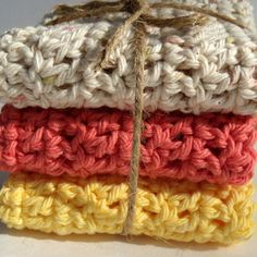 Crochet Dishcloths...