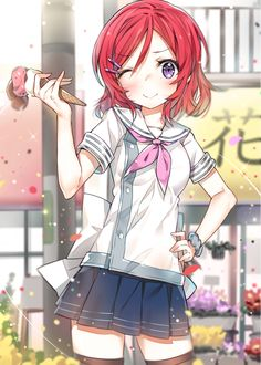 Love Live!, Maki, by cozyquilt