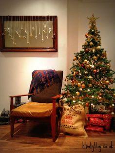 Quick and Easy Christmas Decor -- hi baby blog