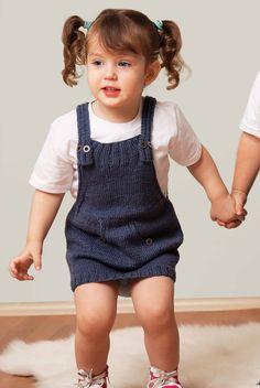 Alize bebek örgü elbise modelleri 4
