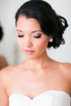 Makeup | Bride | One and Only Paris Photography | On SMP: http://www.stylemepretty.com/destination-weddings/2013/11/21/paris-wedding-from-one-and-only-paris-photography