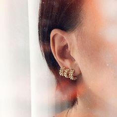 """• T W I N I N A S • στο Instagram: """"ғᴇsᴛɪᴠᴇ ᴡʜᴇᴇʟ ʜᴏᴏᴘ ᴇᴀʀʀɪɴɢs 💫🎡✨ #twininas ✨ www.twininas.gr"""" Earrings, Jewelry, Instagram, Fashion, Ear Rings, Moda, Stud Earrings, Jewlery, Bijoux"""