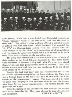 Pt.3 of Navy involvement on the UO campus 1917-18.   From the 1919 Oregana (University of Oregon yearbook).  www.CampusAttic.com