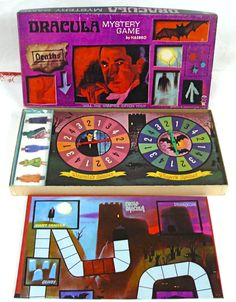 Dracula Board Game