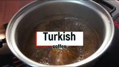 Turkish coffee 냄비로 즐기는 터키식 커피!!