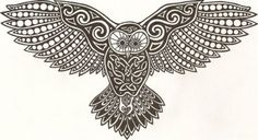 Celtic Owl - from an Irish Mouse :D