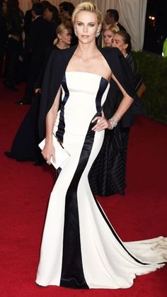 9. #Charlize Theron in Dior