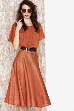 Vintage Let's Get Lost Dress