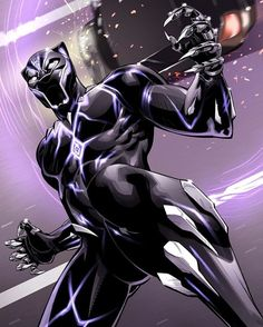 Black Panther looking icy by on DeviantArt Marvel Dc Comics, Marvel Heroes, Marvel Avengers, Marvel Art, Black Panther Art, Black Panther Marvel, Wakanda Marvel, Marvel Universe, Avengers Quotes