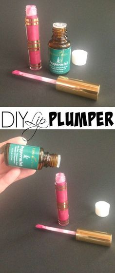 DIY Homemade Lip Plumper Using Essential Oils! This is perfect for Valentine's Day!