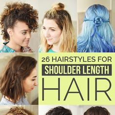 26 Incredible Hairstyles You Can Learn In 10 Steps Or Less - I really appreciate the fact that they included styles for curly and kinky hair in here!