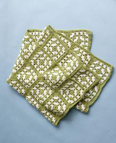 Bunratty Baby Blanket Pattern (Crochet)