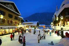 The centre of the chic resort of Madonna di Campiglio