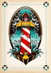 illustration light house