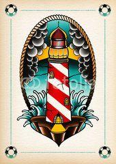 illustration light house