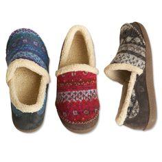 c138f263967da Acorn Moccasin Slippers   Acorn® Crosslander Moc Slippers