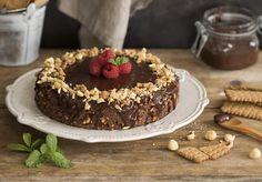 Tarta de galletas y avellanas Menu Planners, Biscuit Recipe, Biscuits, Cheesecake, Dishes, Cooking, Ethnic Recipes, Desserts, Food