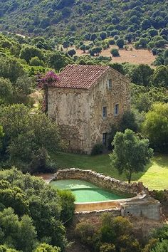 The Domaine de Murtoli for renting houses in South Corsica and its restaurants | Vogue Paris